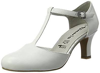 Tamaris Damen Pumps weiß amazon