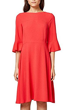 edc by Esprit Damen Kleid rot amazon