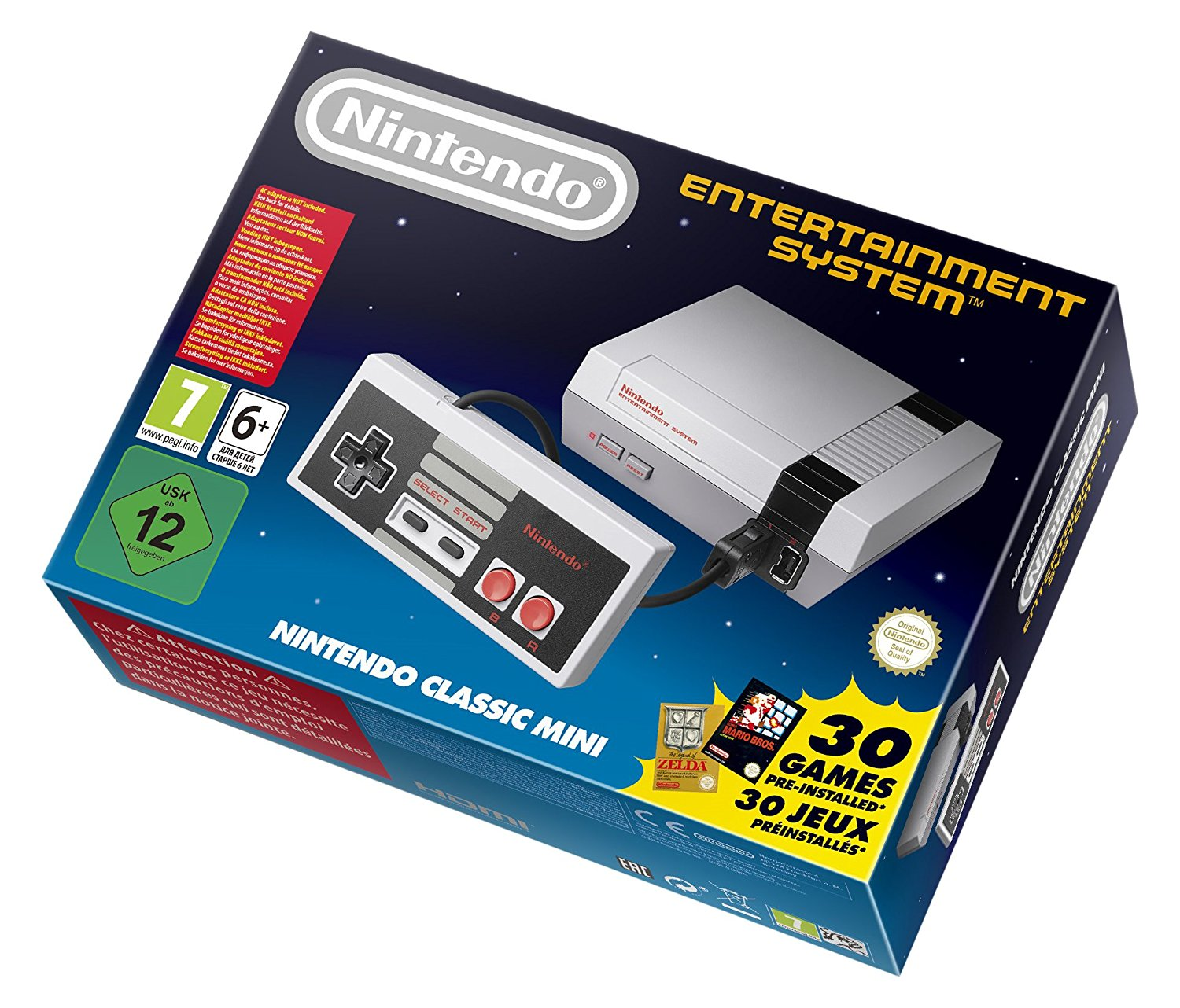 Nintendo Classic Mini amazon
