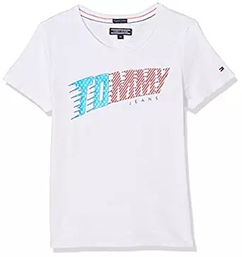 Tommy Hilfiger Mädchen T-Shirt amazon
