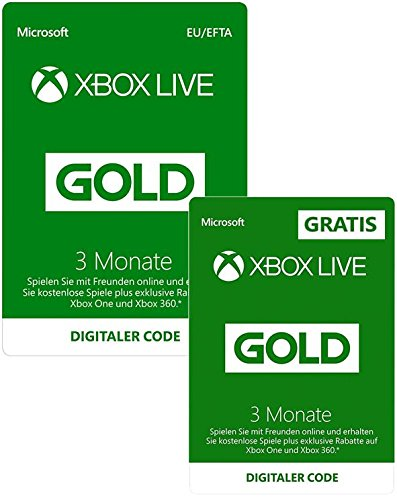 Xbox Live Gold Mitgliedschaft amazon