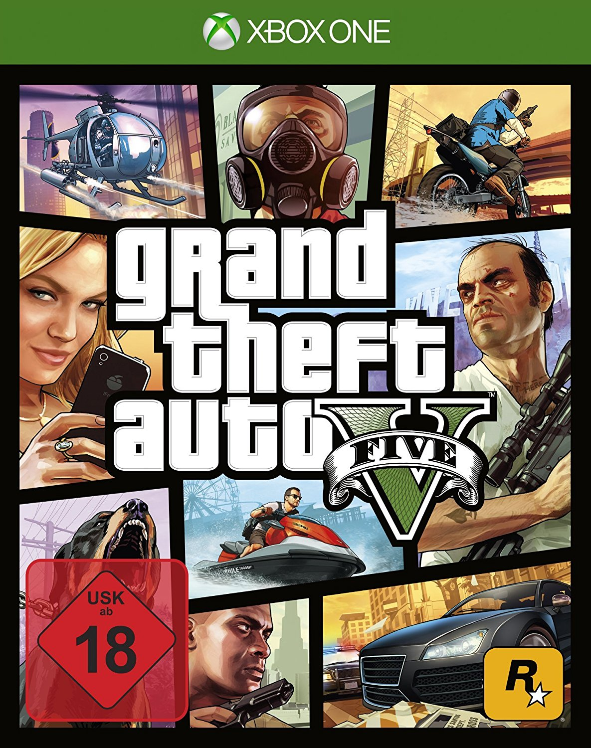 Grand Theft Auto V Xbox One amazon