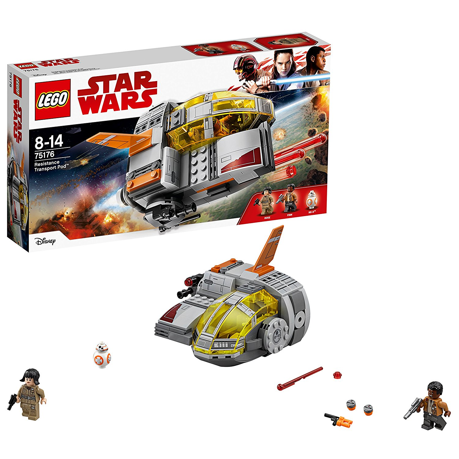 Lego Star Wars Resistance Transport Pod amazon