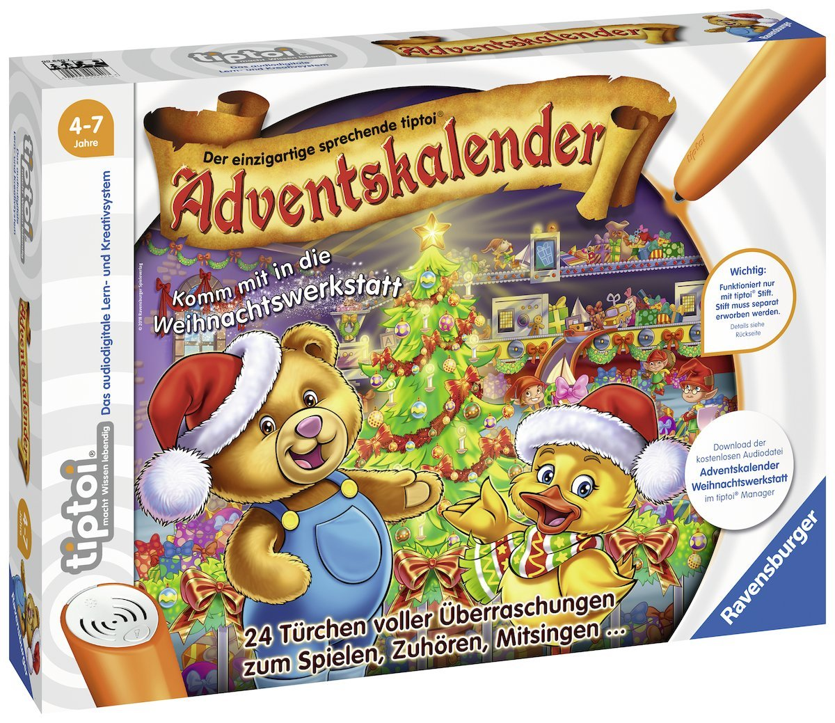 Ravensburger Tiptoi Adventskalender amazon