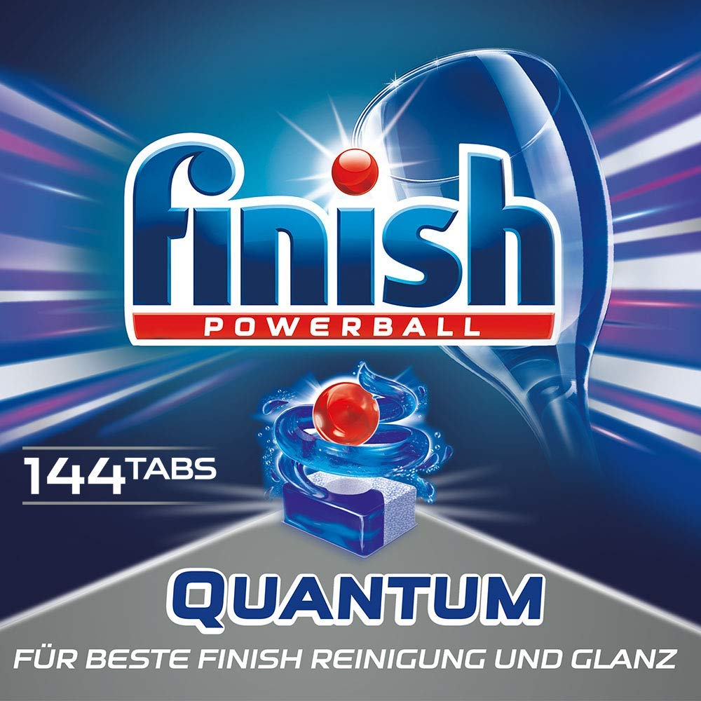 Finish Quantum Spülmaschinentabs Powerball amazon