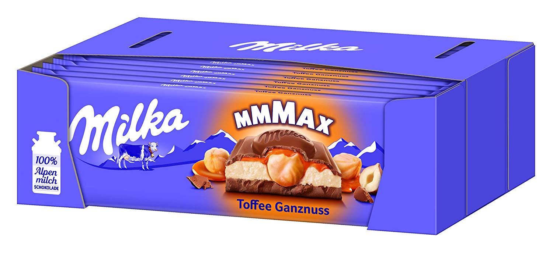 Milka Toffee Ganznuss Schokolade amazon