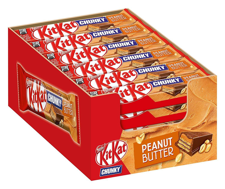 Nestle KitKat Chunky Peanut Butter amazon