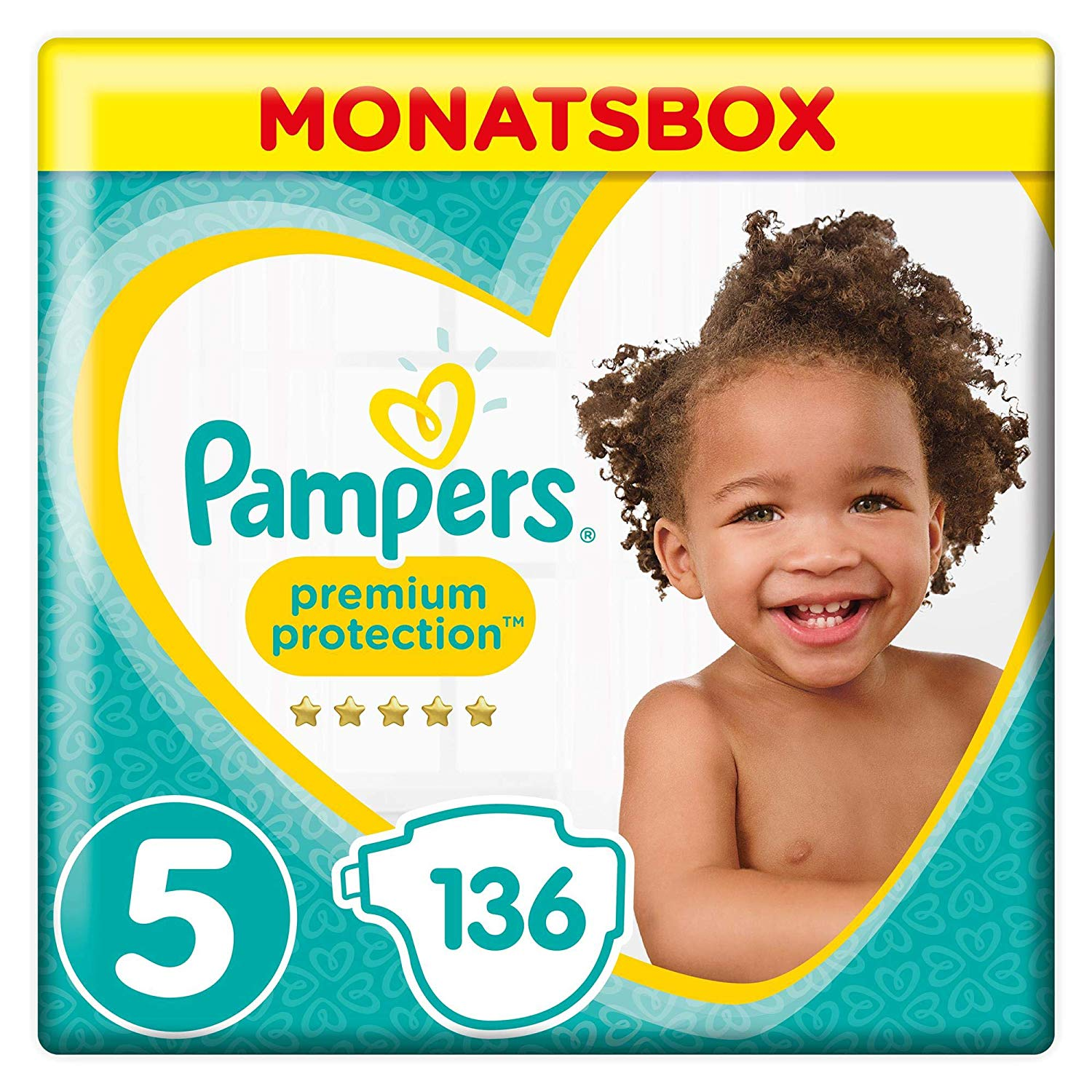 Pampers Windeln Vorteils-Set amazon