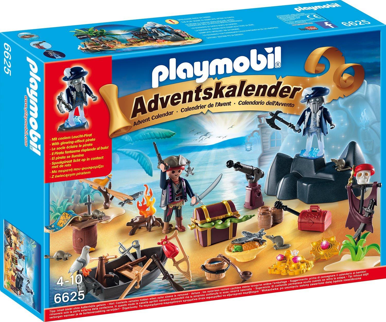 Playmobil Adventskalender Geheimnisvolle Piratenschatzinsel amazon