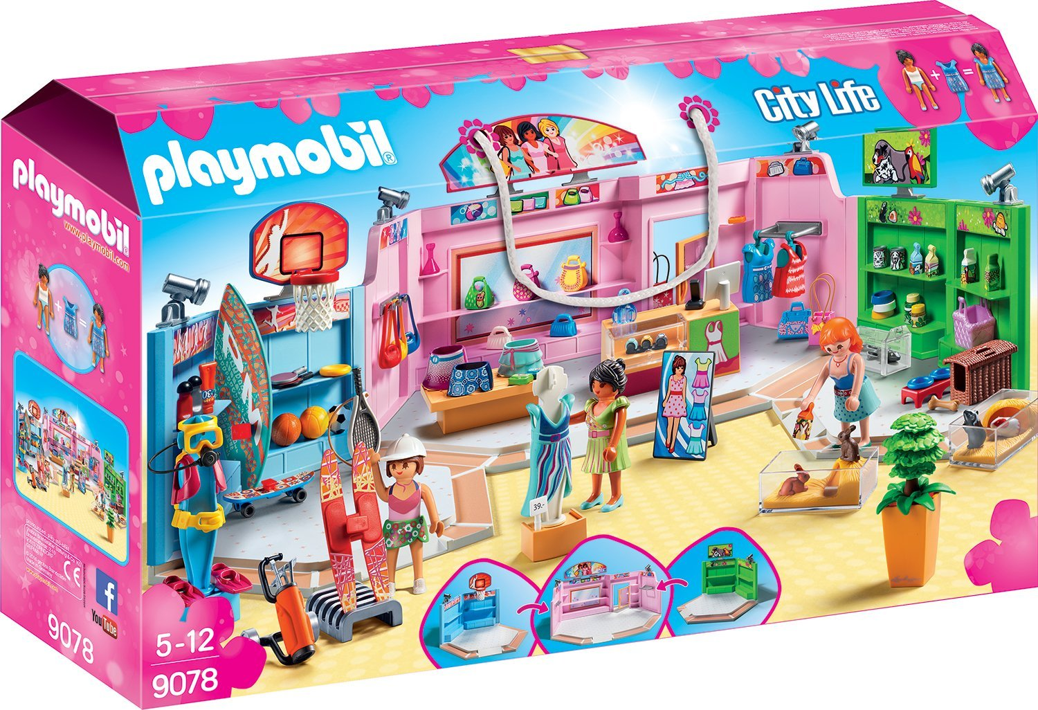 Playmobil Einkaufspassage amazon