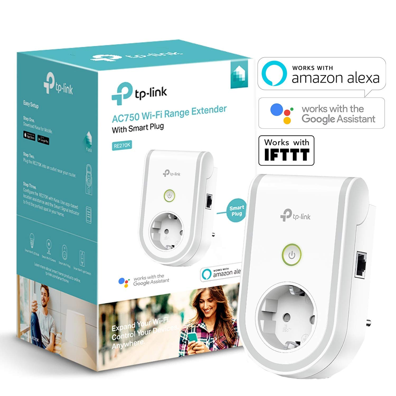 TP-Link WLAN Steckdose Repeater amazon