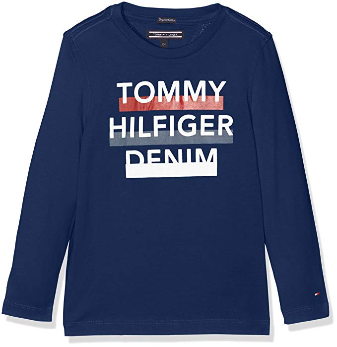 Tommy Hilfiger Denim Langarmshirt amazon