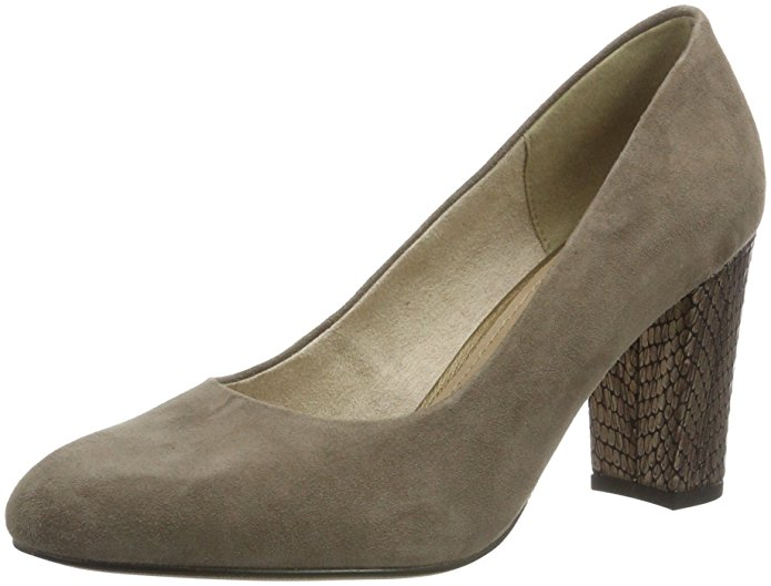 s.Oliver Damen Pumps amazon Grau