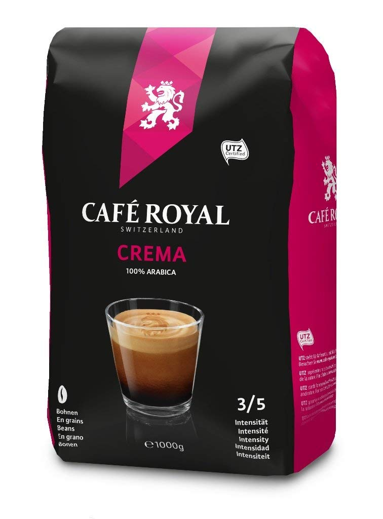 Cafe Royal Bohnenkaffee Crema amazon