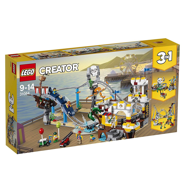 Lego Creator Piraten Achterbahn amazon