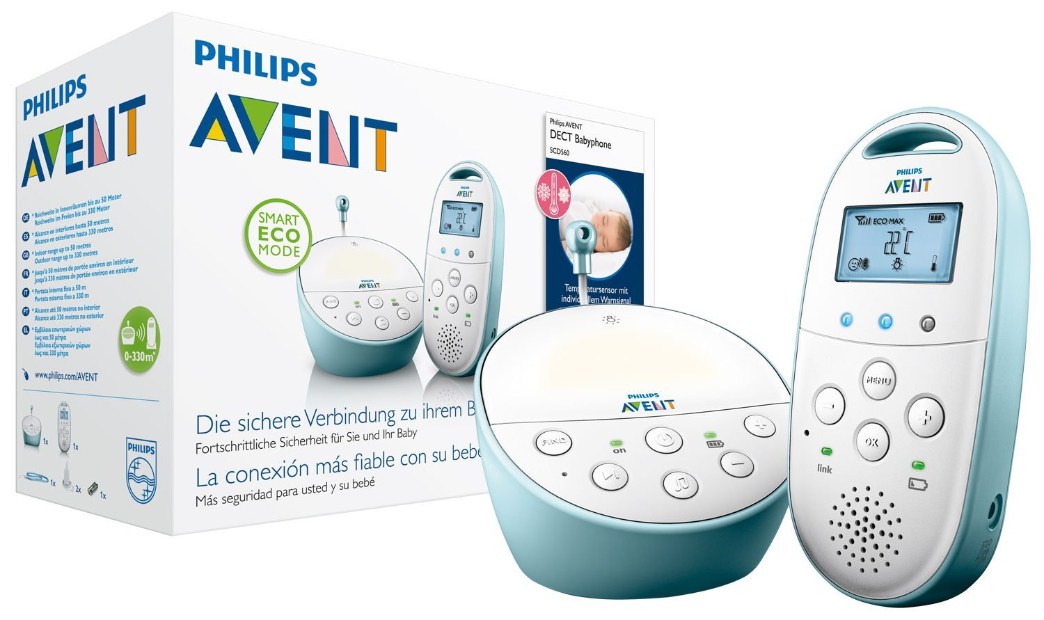 Philips Avent Babyphone DECT amazon
