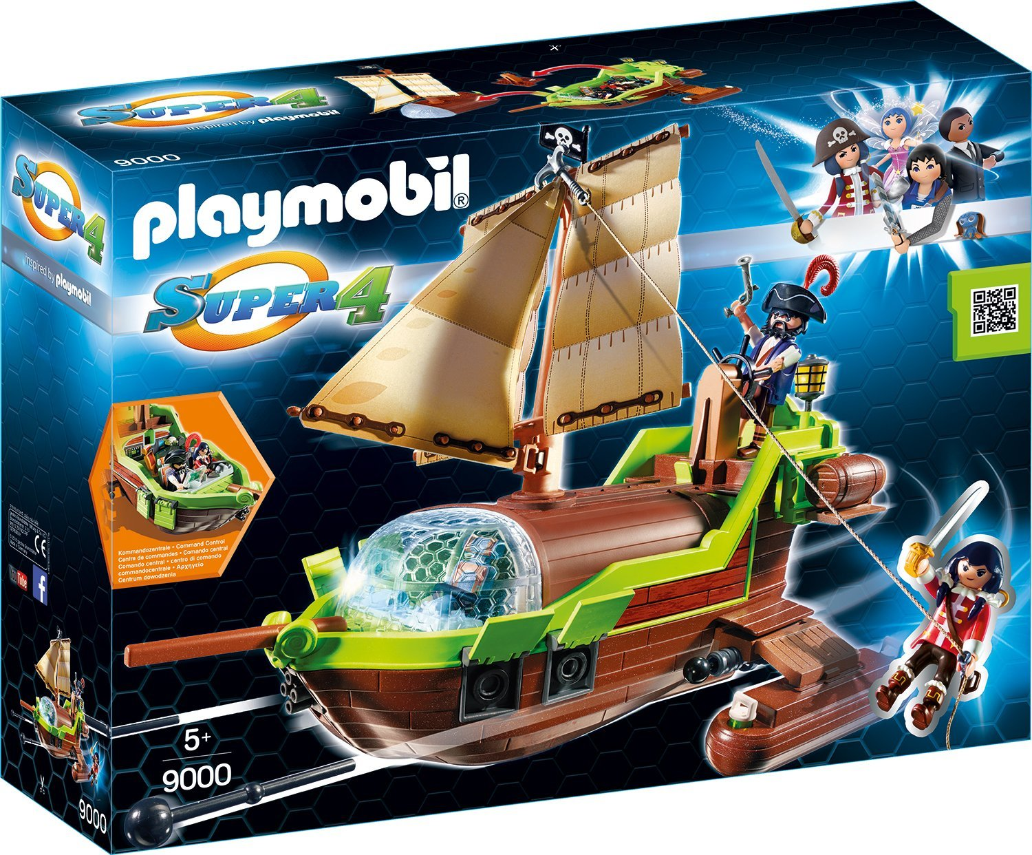 Playmobil Piraten Chamäleon amazon
