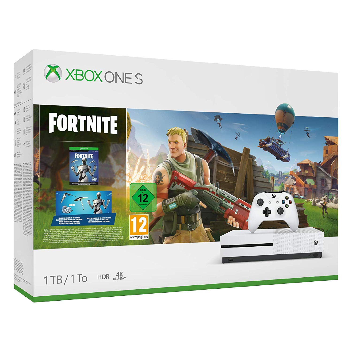 Xbox One S Bundle Fortnite amazon