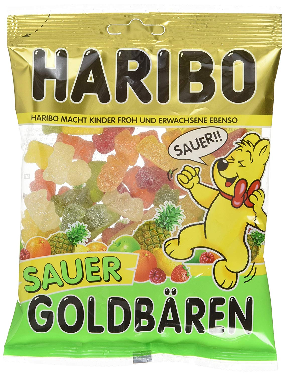 Haribo Goldbären sauer amazon