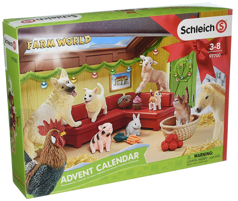 Schleich Farm World Adventskalender amazon