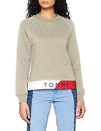 Tommy Hilfiger Damen Sweatshirt amazon
