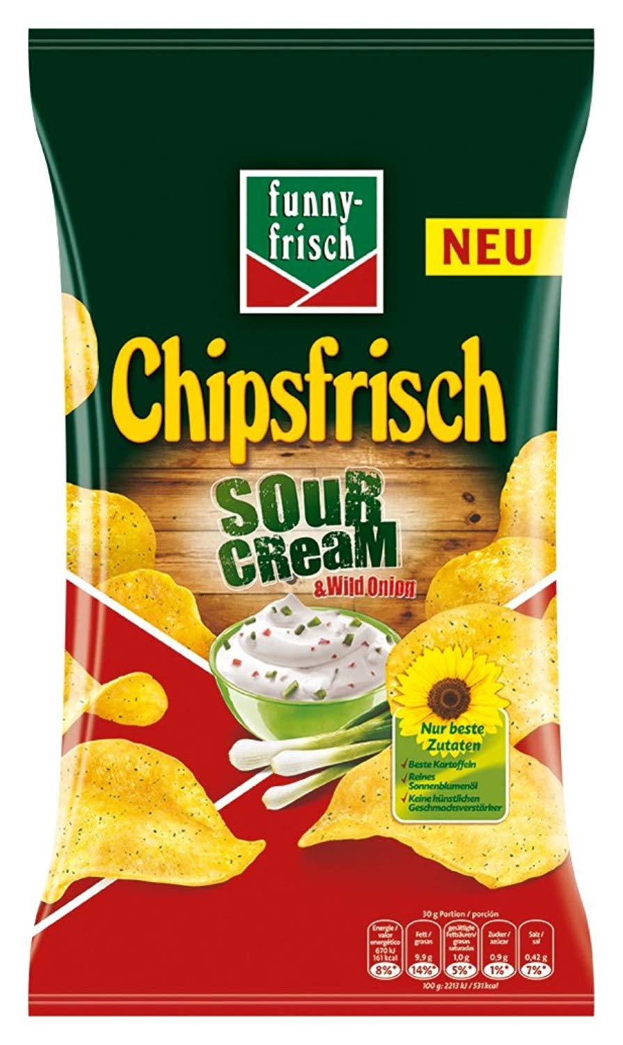 funny frisch Chips Sour Cream amazon