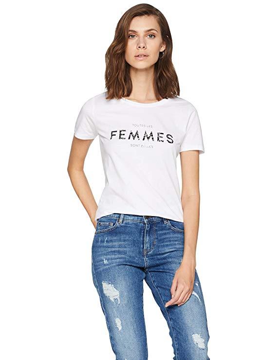 BOSS Damen T-Shirt Femmes amazon