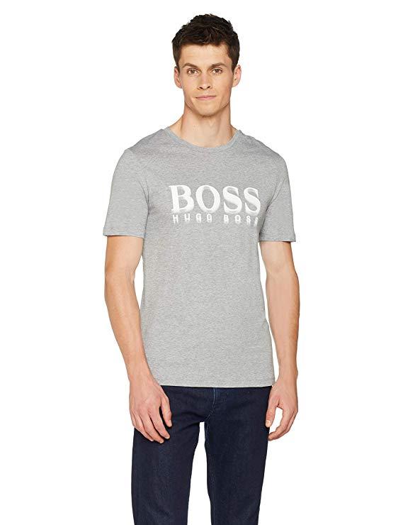 BOSS Herren T-shirt grau amazon