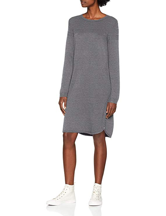 Esprit Damen Kleid grau amazon