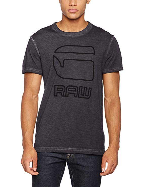 G-STAR RAW graues T-Shirt amazon