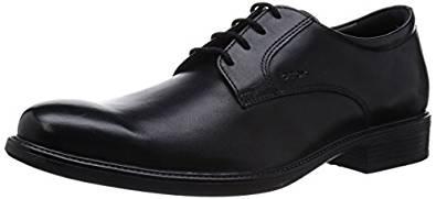 Geox Derbys Schuhe schwarz amazon