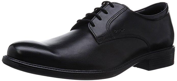 Geox Schuhe Herren Derby schwarz
