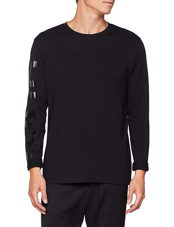 HUGO Langarm Shirt amazon