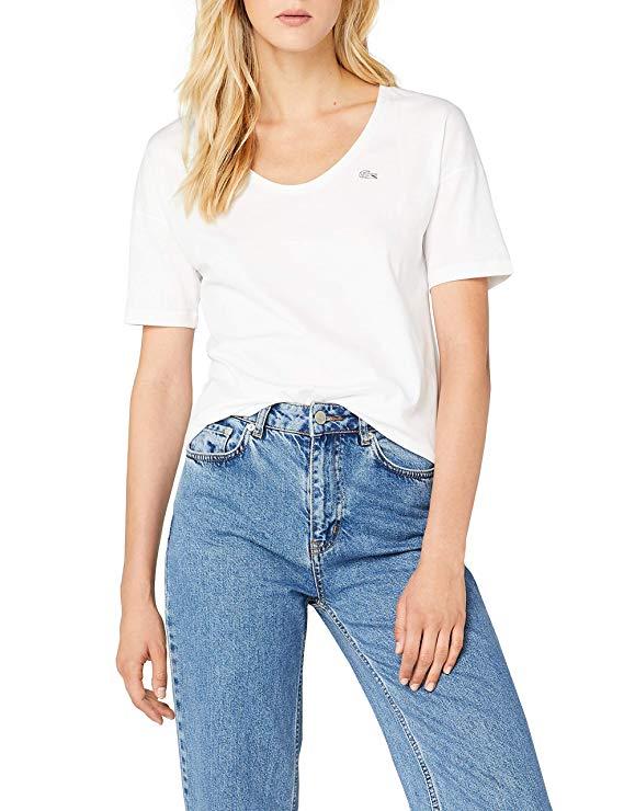 Lacoste Damen T-Shirt amazon