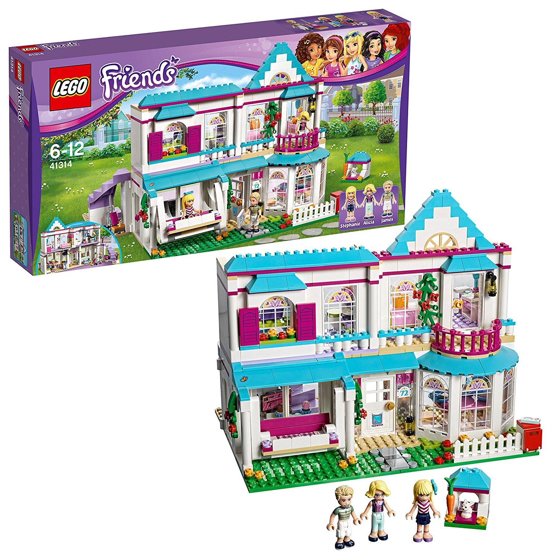 Lego Friends Stephanies Haus amazon