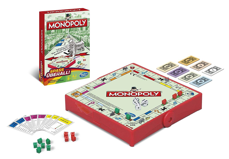 Monopoly kompakt Hasbro amazon