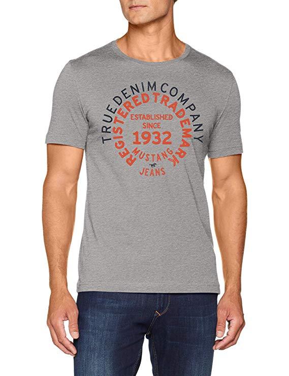 Mustang Herren T-Shirt amazon