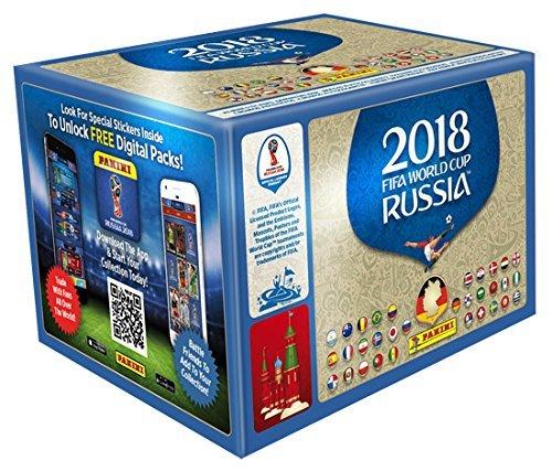 Panini FIFA Russia 2018 Sticker amazon