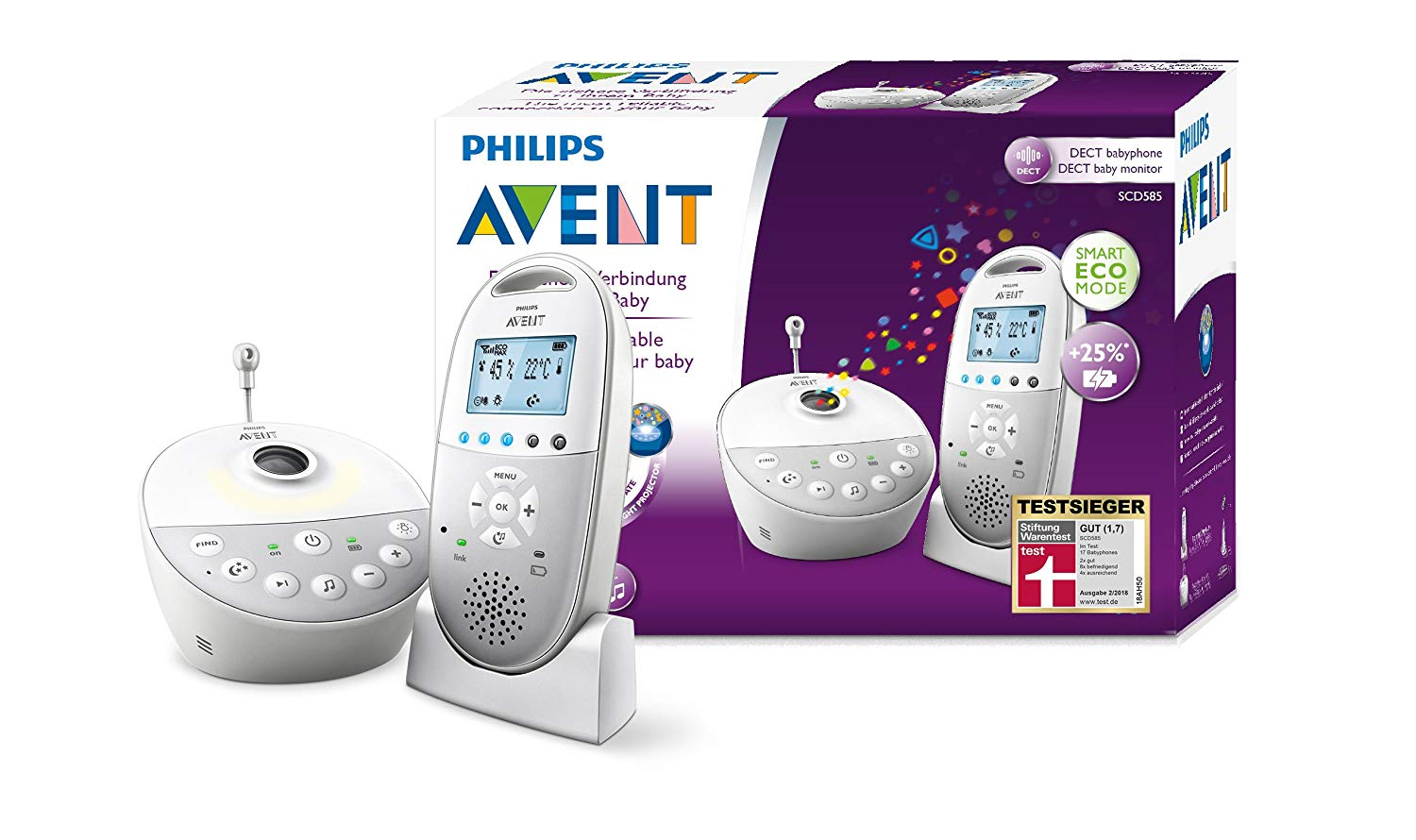 Philips Avent Babyphone amazon