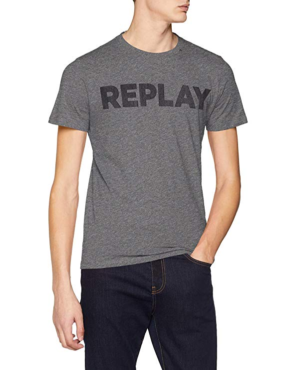 Replay Herren T-Shirt amazon