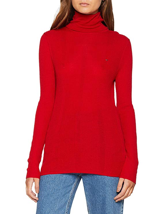 Tommy Jeans Damen Rollkragenpullover amazon