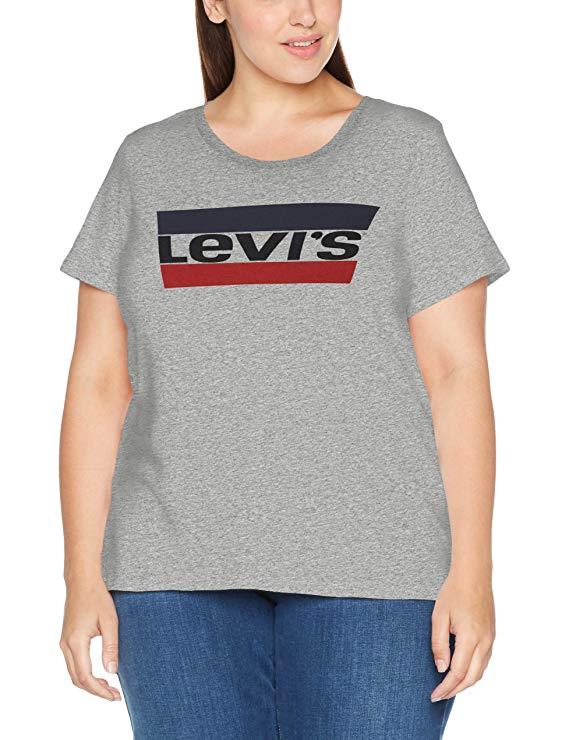 Levis T-Shirt Damen Übergröße amazon