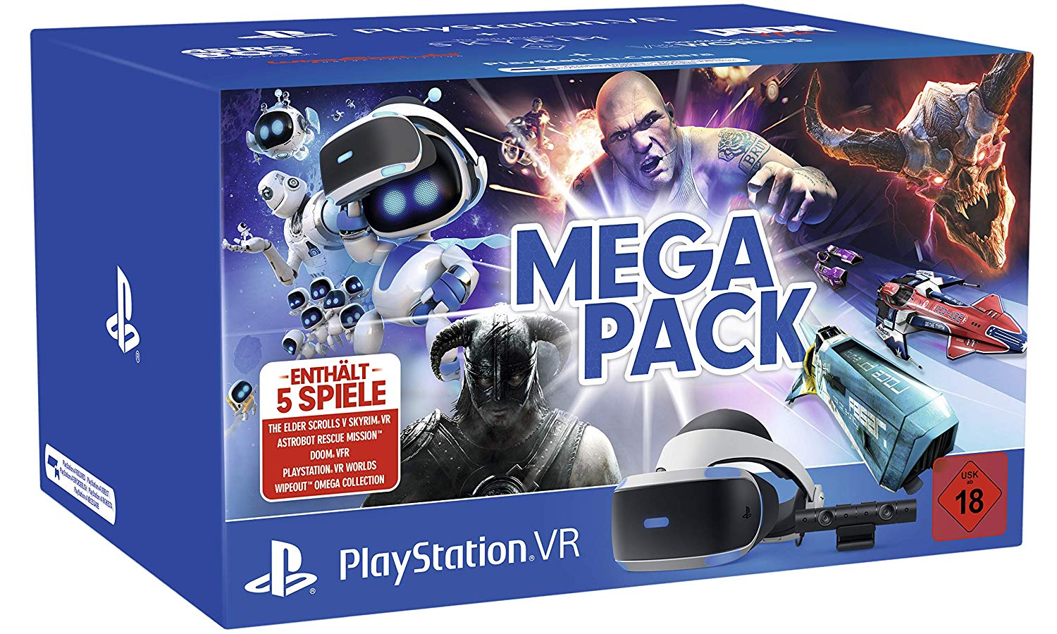 PlayStation Vitual Reality Mega Pack amazon