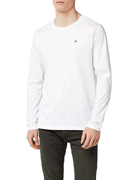 Tommy Hilfiger Herren Langarm T-Shirt amazon