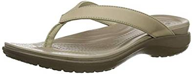 crocs Damen Flip Flops amazon