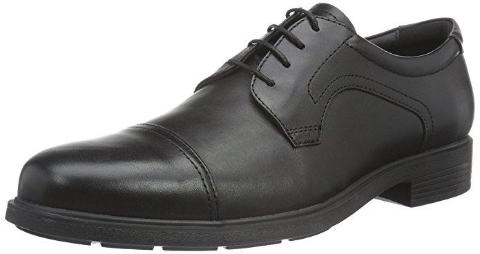 Geox Herren Schuhe schwarz amazon