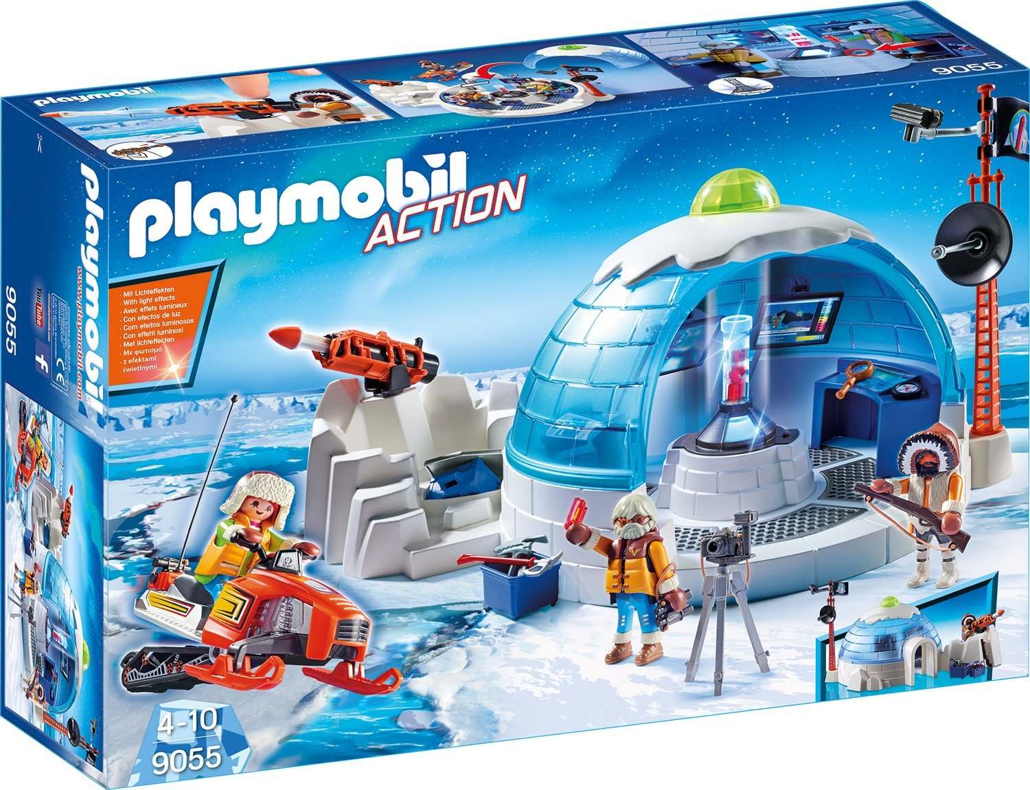 Playmobil Polar Ranger Hauptquartier amazon