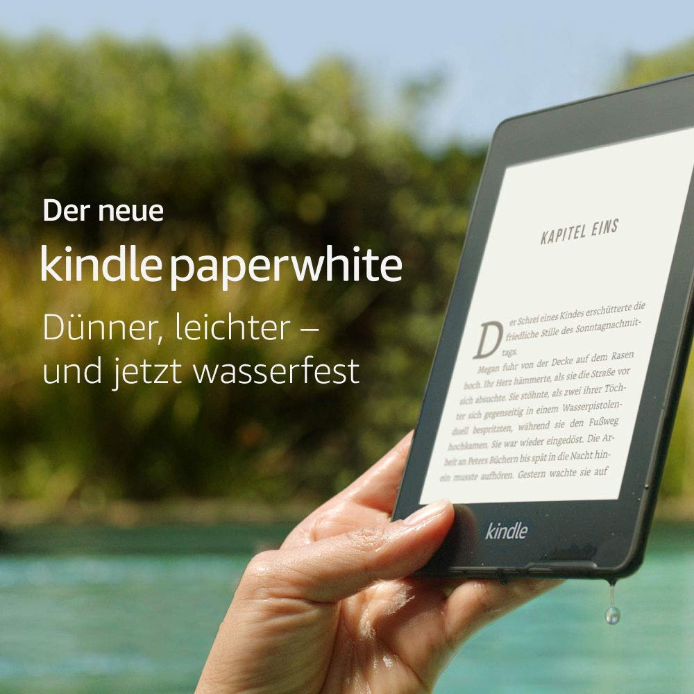 Der neue Kindle paperwhite amazon