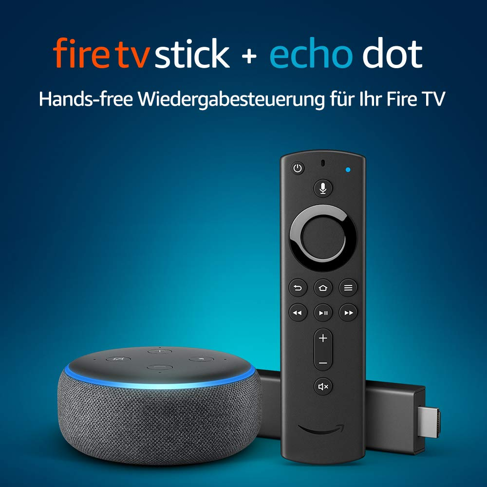 Fire TV Stick Alexa Echo Dot amazon
