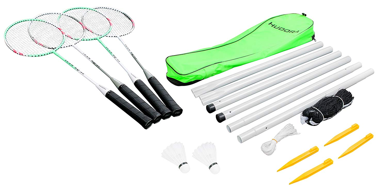 Hudora Badminton Set amazon